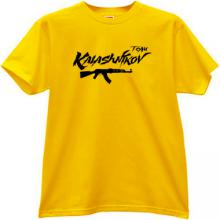KALASHNIKOV TEAM AK-47 T-shirt in yellow