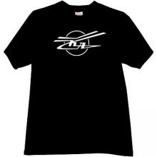 KA - Kamov - Russian Helicopter Design Bureau T-shirt in black