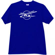 KA - Kamov - Russian Helicopter Design Bureau T-shirt in blue