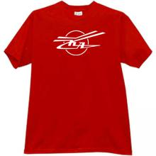 KA - Kamov - Russian Helicopter Design Bureau T-shirt in red