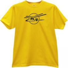 KA - Kamov - Russian Helicopter Design Bureau T-shirt in yellow