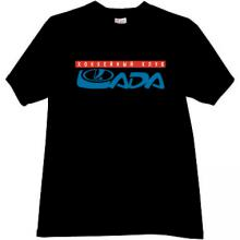 Lada Togliatti Hockey Club Russian T-shirt in black
