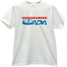 Lada Togliatti Hockey Club Russian T-shirt in white
