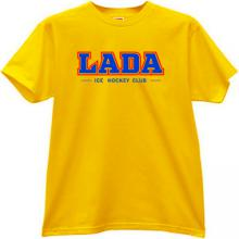 LADA Togliatti Russian Ice Hockey Club T-shirt in yellow