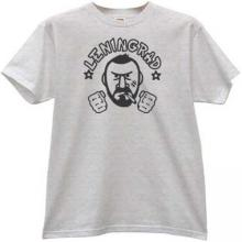 Leningrad russian rock group T-shirt in gray