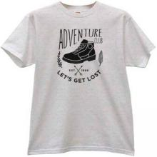 Lets Get Lost Adventure Club Cool T-shirt