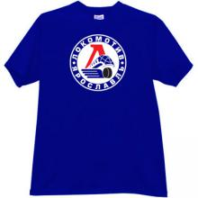 Russian Lokomotive - Yaroslavl Hockey Club T-shirt in blue