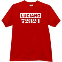 LUCIANO Cool Mafia t-shirt in red