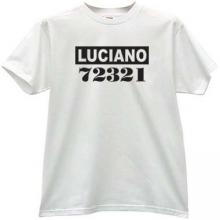 LUCIANO Cool Mafia t-shirt in white
