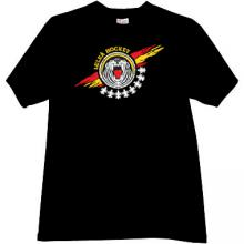 Hockey Club Lulea Sweden T-shirt in black