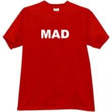 MAD Cool T-shirt in red