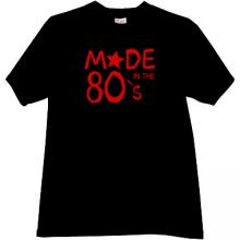 Made in the 80s T-shirt in black