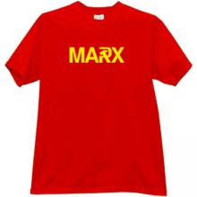 MARX T-shirt in red