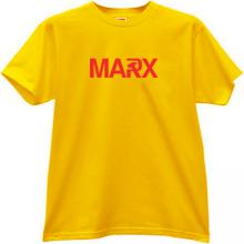 MARX T-shirt in yellow