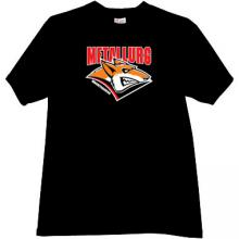 Hockey Club Metallurg Magnitogorsk Russian T-shirt in black