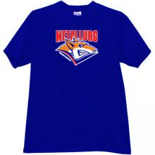 Hockey Club Metallurg Magnitogorsk Russian T-shirt in blue