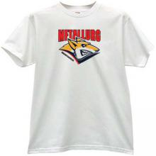 Hockey Club Metallurg Magnitogorsk Russian T-shirt in white