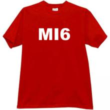 MI6 T-shirt in red