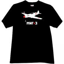 MiG-3 - Soviet high-altitude fighter of World War II T-shirt bl