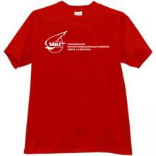 MIG Russian Aircraft Corporation Logo T-shirt in red