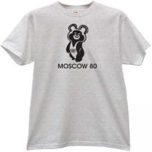 Moscow 80 Olimpic Bear T-shirt