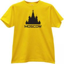 Moscow T-shirt in yellow