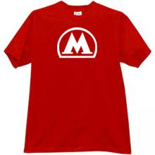 Moscow Metro T-shirt in red