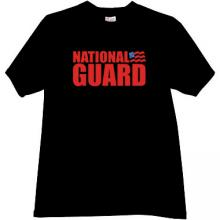 National Guard of the United States T-shirt in black