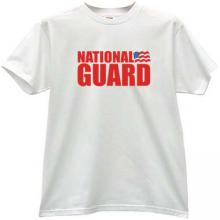 National Guard of the United States T-shirt in white