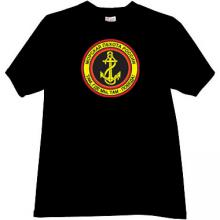 Russian Naval Infantry Cool T-shirt in black