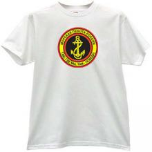 Russian Naval Infantry Cool T-shirt in white