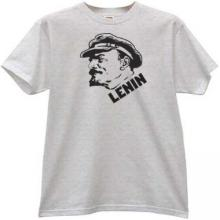 New Lenin T-shirt in gray