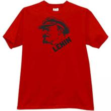 New Lenin T-shirt in red