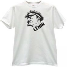 New Lenin T-shirt in white