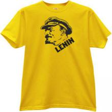 New Lenin T-shirt in yellow