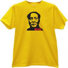 MAO Leader T-shirt in yellow