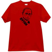 New Putin Russian T-shirt in red