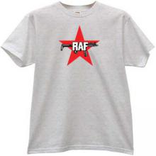 RAF - Red Army Faction T-shirt in gray