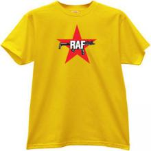 RAF - Red Army Faction T-shirt in yellow