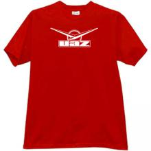 UAZ Logo Russian off-road auto t-shirt in red
