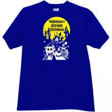Nightmare Before Christmas T-shirt in blue