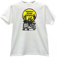 Nightmare Before Christmas T-shirt in white