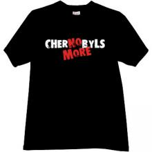 No More Chernobyls T-shirt in black