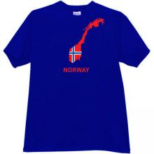 Norway T-shirt in blue