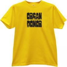 Organ Donor Funny T-shirt in yellow