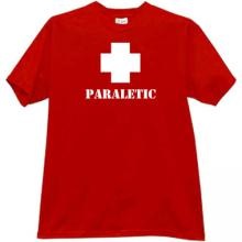 PARALETIC T-shirt in red