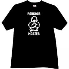 Parkour Master Cool T-shirt in black