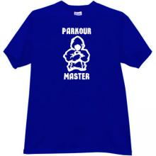 Parkour Master Cool T-shirt in blue
