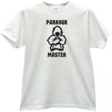 Parkour Master Cool T-shirt in white