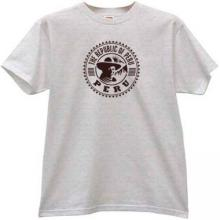 The Republic of Peru T-shirt in gray
